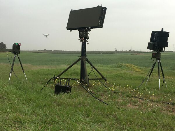 The Drone Guard system designed to tackle unauthorised unmanned aircraft has now been sold to an undisclosed south Asian nation. (IAI)