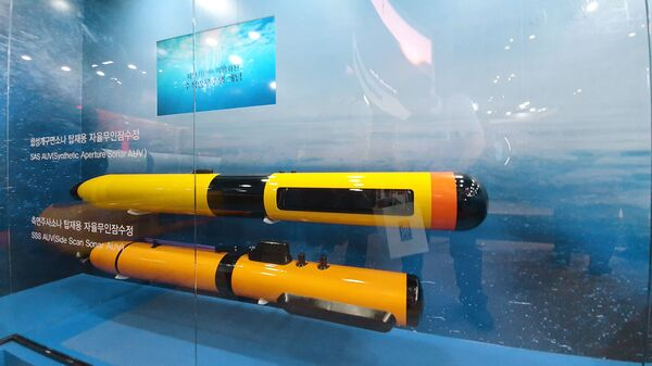South Korea's Hanwha Systems is leading development of a networked unmanned search-and-rescue system. (Dae Young Kim)