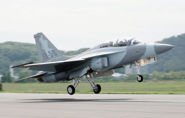 Malaysia has approached Korea Aerospace Industries to seek information about the company's FA-50 light fighter aircraft. The platform is viewed as a leading candidate for the Royal Malaysian Air Force's Light Combat Aircraft programme. (KAI)
