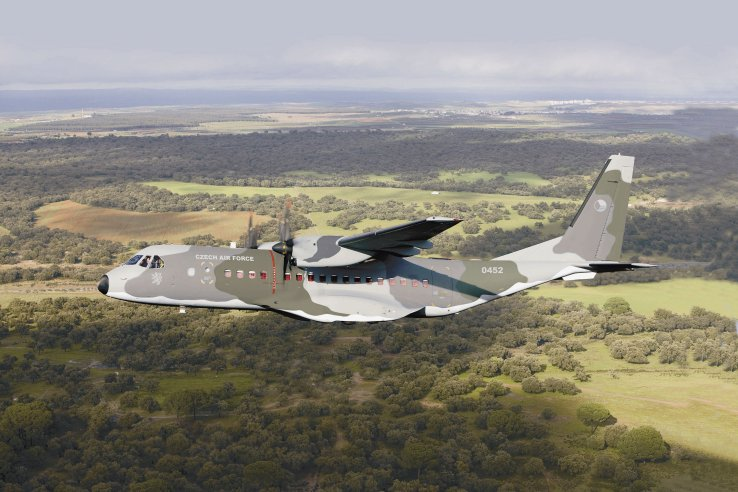 The Czech Republic plans to buy two more C295 transport aircraft to join the four it already operates. (Airbus)