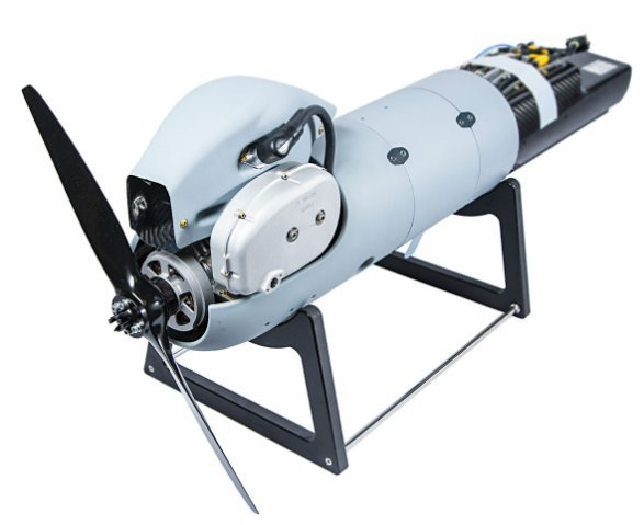 Orbital Corporation is supplying Insitu with high-performance heavy fuel propulsion systems, with this example developed specifically for the ScanEagle UAV. (Insitu)