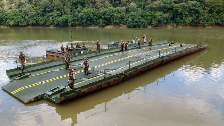The Brazilian Army received the first IRB system in 2019 and a second is to follow in 2020. (Brazilian Army)
