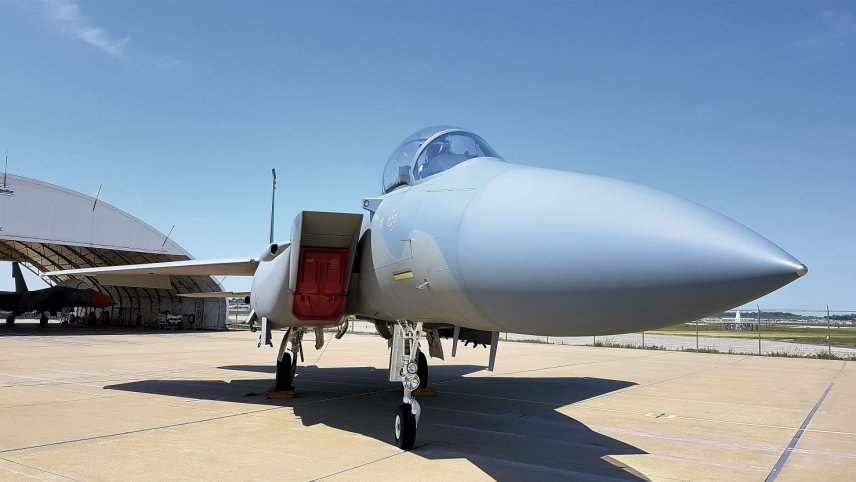The US Air Force requested eight Boeing F-15EX Advanced Eagles in its FY 2020 budget request and expects to procure 18 aircraft annually from FY 2021–24. (Janes/Gareth Jennings)
