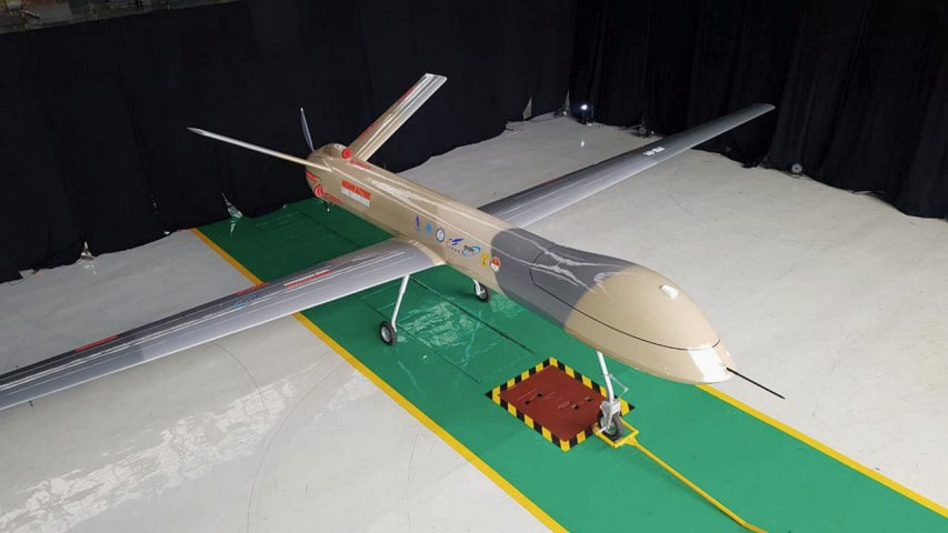 PTDI's Elang Hitam (Black Eagle) appears to be modelled after the Chinese-made CH-4 MALE UAV. (PTDI)