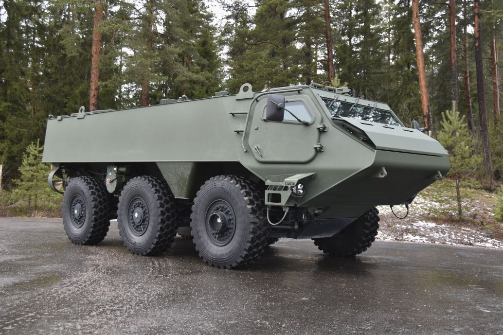 Finland and Latvia have selected a Patria 6×6 platform for their joint vehicle development programme. (Patria)