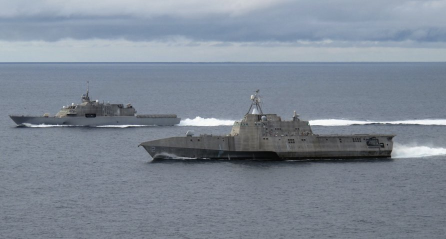 Australian shipbuilder Austal has said its business is largely unaffected by the Covid-19 pandemic. Strong forecasted revenues are partly attributed to its US business, which includes the ongoing programme to build Littoral Combat Ships (pictured) for the US Navy. (US Navy)