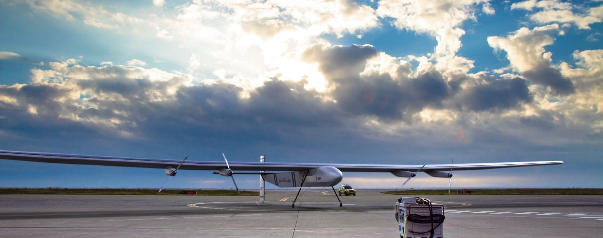 Skydweller Aero is developing a persistent UAV based on the solar-powered Solar Impulse 2 aircraft, which successfully completed a circumnavigation of the world between March 2015 and July 2016 using just solar power.