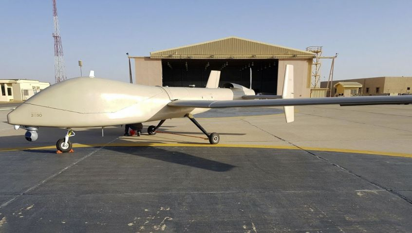 UAVOS and the King Abdulaziz City for Science and Technology (KACST) of Saudi Arabia are developing the Saker-1C, a new medium altitude long endurance (MALE) unmanned aerial vehicle (UAV).