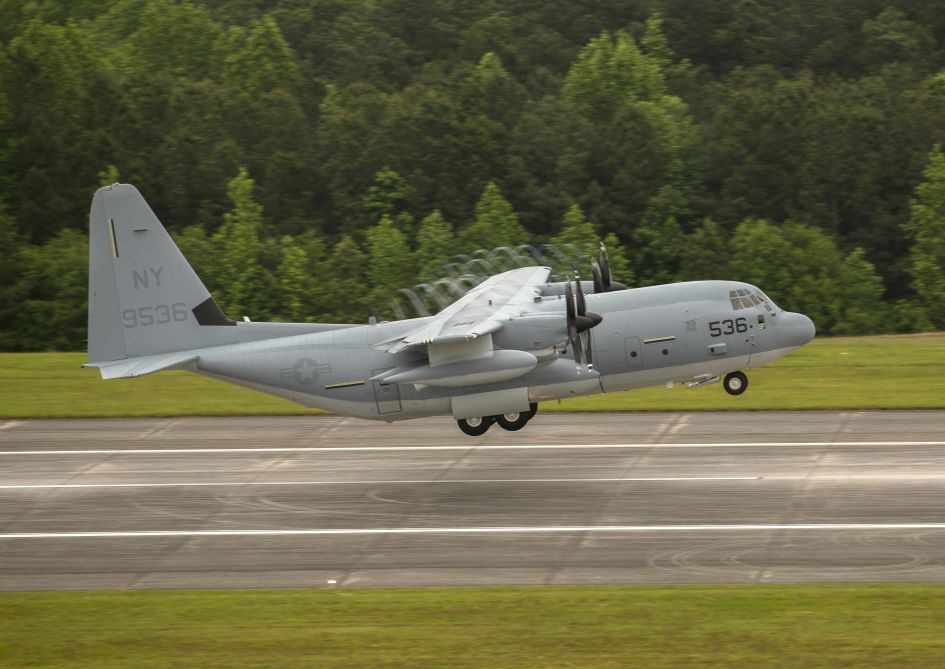 Lockheed Martin provided its final C-130J as part of the 2015 Multi-Year 2 contract with the Pentagon with a 28 May KC-130J (pictured) delivery to Stewart Air National Guard Base in New York.
