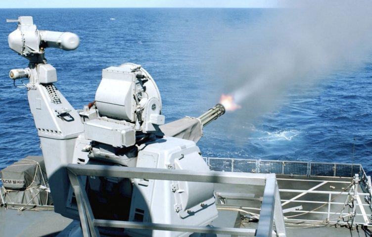 Para su nuevo CIWS-II, RoKN planea usar el mismo cañón automático Avenger GAU-8 / A utilizado por el Goalkeeper CIWS (en la foto), que ya es operado por el servicio.