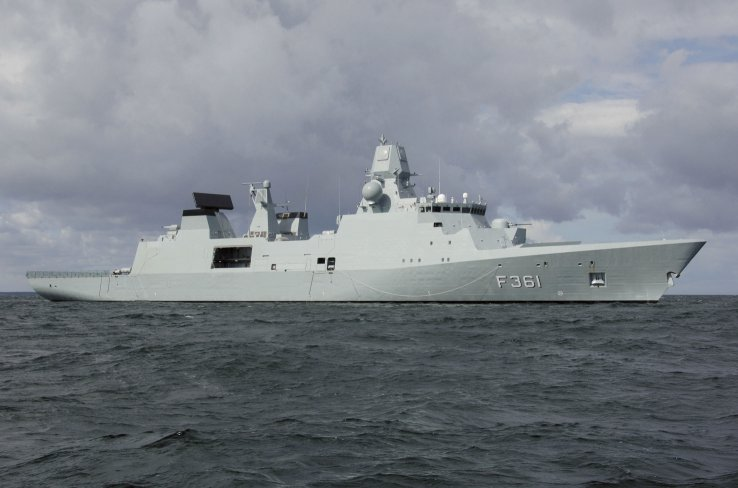 Denmark's first-of-class Iver Huitfeldt frigate. Indonesia has signed a preamble contract, with the intention to eventually procure a variant of the ship for its requirements. (Guy Toremans)