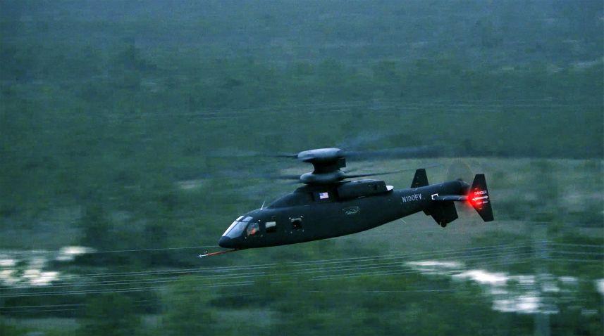 El helicóptero coaxial desafiante Sikorsky-Boeing SB> 1 alcanzó una nueva velocidad máxima de 205 kt el 9 de junio de 2020. (Sikorsky-Boeing)