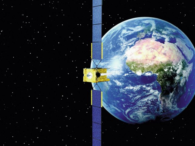 The winner of the UK's Skynet satcom system Service Delivery Wrap contract will assume responsibility for managing the Skynet 5 satellites and the ground communications network. (Airbus Defence & Space)