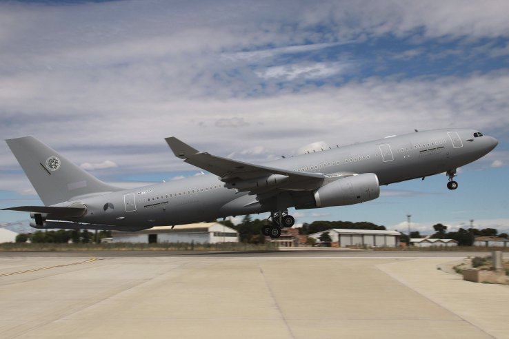 The first of eight A330 MRTT aircraft that NATO members Belgium, the Czech Republic, Germany, Luxembourg, the Netherlands, and Norway are to operate as a joint fleet under the MMF initiative was formally delivered on 29 June. (Airbus)