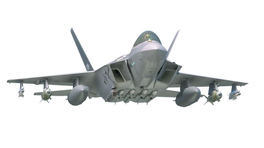 A CGI impression of the RoKAF's future KF-X fighter aircraft.          Janes          has learned that South Korea is planning to develop a new supersonic ASM to be carried by the KF-X.        (KAI)