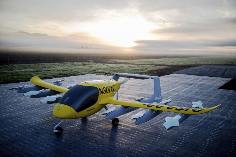 Wisk's Cora 12-rotor eVTOL aircraft. The company decided not to bid for the USAF's Agility Prime programme to focus on bringing air taxi capability to New Zealand and later the United States. (Cora)