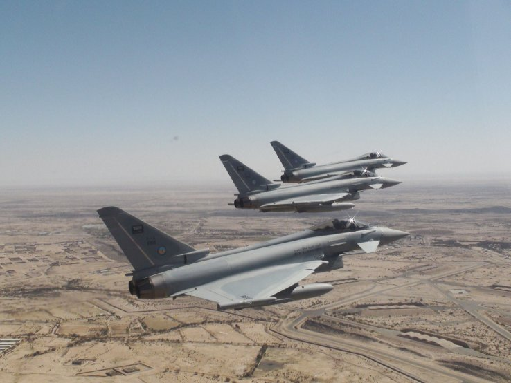 The UK has analysed potential violations by Saudi Arabia of international humanitarian law by fixed-wing aircraft, and has not found any pattern, trend, or systemic weakness in the incidents investigated. (BAE Systems)