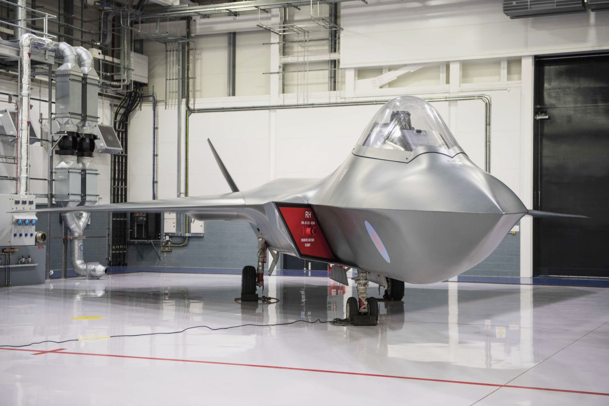 With the Tempest future fighter set to enter service in the 2030s, the UK has added a further seven companies to the industry effort and has plans to add more still. (Crown Copyright)