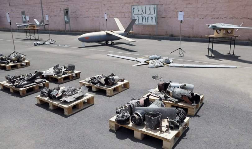 Armenia has displayed the remains of Israeli-made Azerbaijani UAVs it claims to have destroyed in border clashes with Azerbaijan earlier in July. (Armenian MoD)