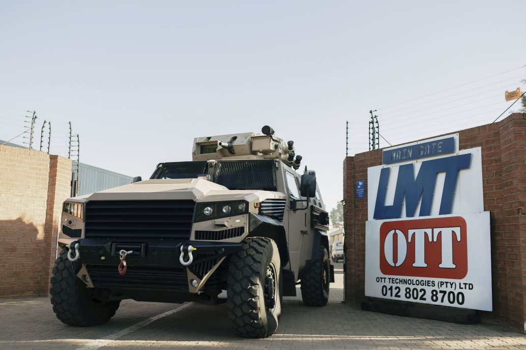 OTT has acquired LMT Products, which develops the LM13 multipurpose combat vehicle. (OTT)