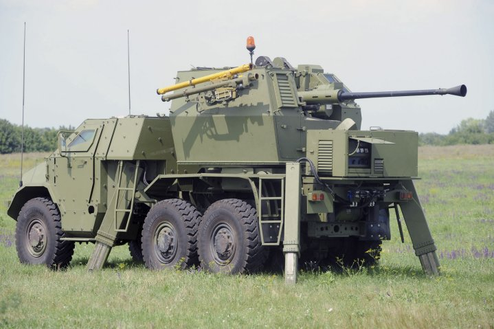 La VTI ha integrado el Igla MANPADS en el PASARS SPAAG.  (Ministerio de Defensa serbio)