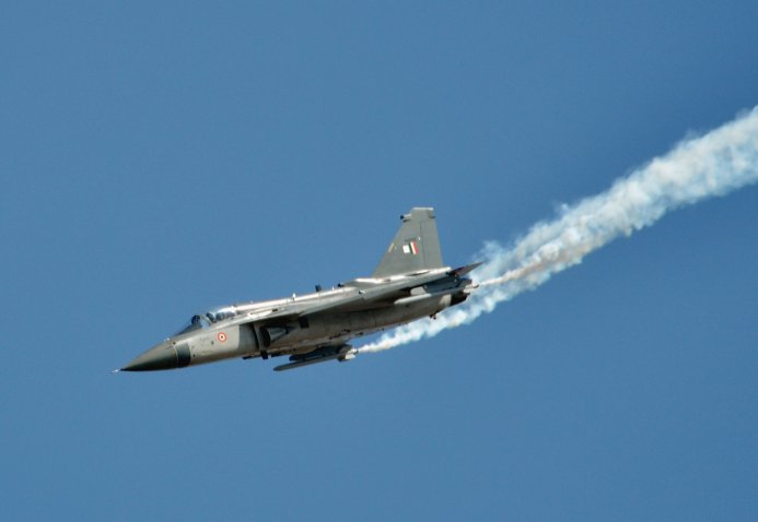 The Indian Ministry of Defence has launched an online portal to support local industry's production of components currently imported for platforms including the Tejas Light Combat Aircraft. (Janes/Patrick Allen)