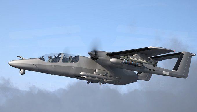 El TAV de ataque ligero, llamado Wasp en su configuración militar completa, está siendo promocionado por Icarus Aerospace como un multiplicador de fuerza opcionalmente pilotado para las fuerzas armadas y de seguridad del mundo.  (Ícaro aeroespacial)
