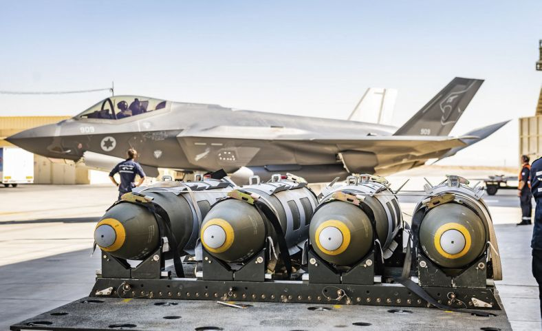 With the F-35 providing the IAF's qualitative military edge, Prime Minister Benjamin Netanyahu has opposed the sale to any country in the Middle East, including Arab countries that have peace agreements with the State of Israel. (Israeli Air Force)