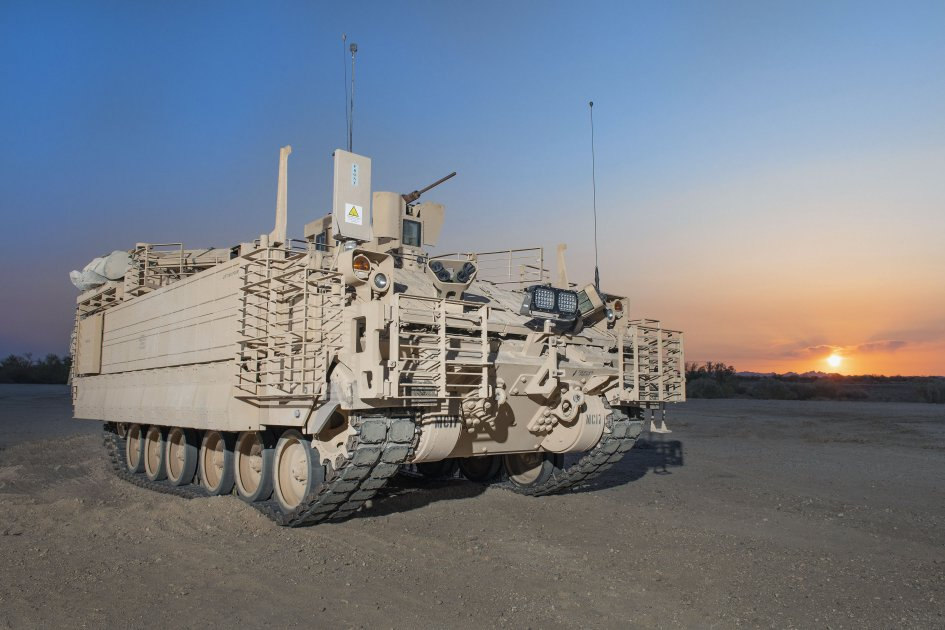 BAE Systems has delayed delivery of the AMPV to the US Army. (BAE Systems)