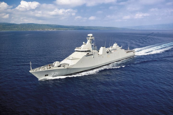 Among programmes that may be funded via the proposed foreign defence credits include two follow-on warships to the Martadinata-class frigates. (Damen)