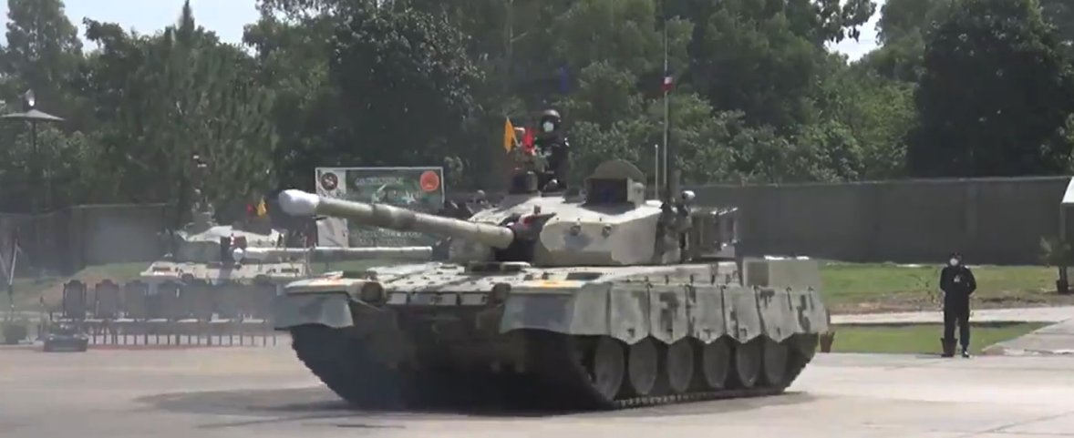 State-owned Heavy Industries Taxila (HIT) - manufacturer of Al-Khalid-I main battle tank (pictured) - has been designated by the Pakistan government as an 'autonomous body', giving it greater independent control.   (ISPR)