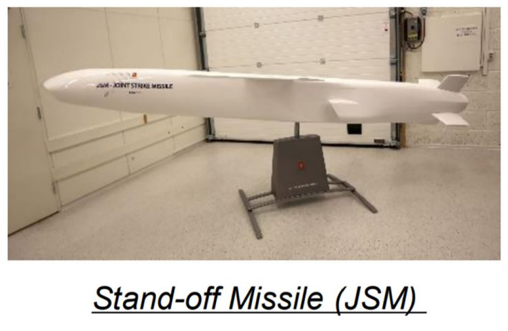 An image provided by the Japanese MoD showing a model of the JSM.  (Japan MoD)