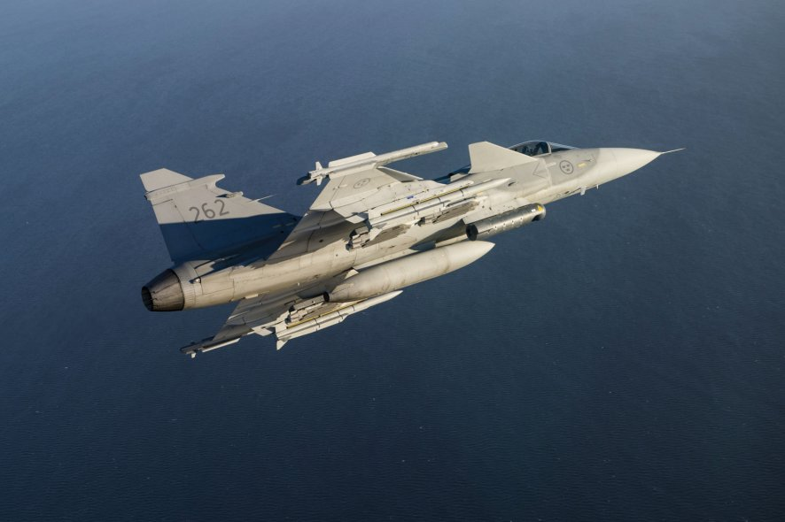 Sweden and Saab hope to satisfy Croatia's MiG-21 replacement requirement with the Gripen C/D. (MBDA)