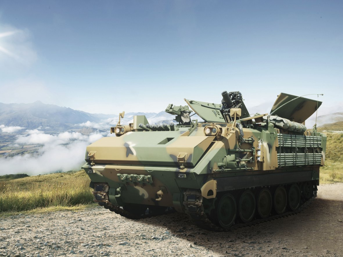 South Korea has decided to mass-produce a newly developed 120-mm self-propelled mortar system under a five-year KRW770 billion (USD648.5 million) contract set to be awarded later this year. (Hanwha Defense)