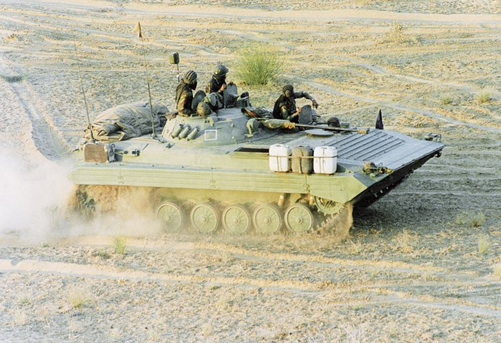 The IA has invited EoIs from local vendors by 16 October regarding the planned upgrade of 811 of its BMP-2/2K 'Sarath' ICVs (similar to this one). (V K Singh/Indian MoD)
