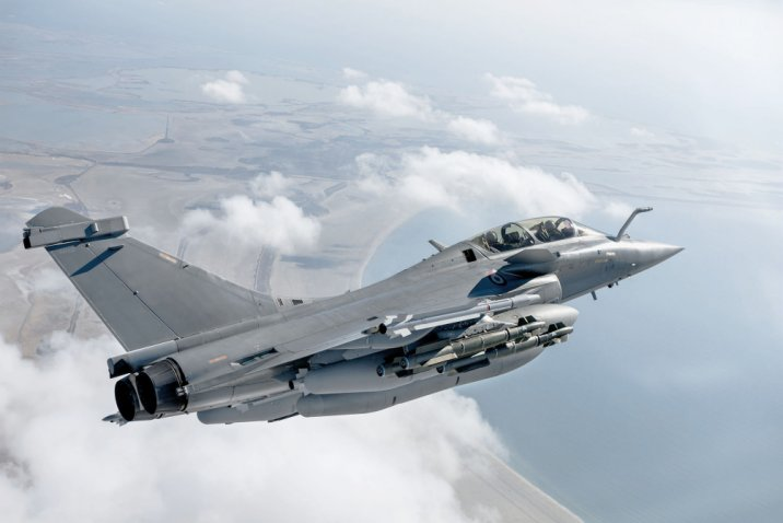 The HAF will acquire 18 Rafale fighter aircraft from mid-2021 to 2022. (Dassault)