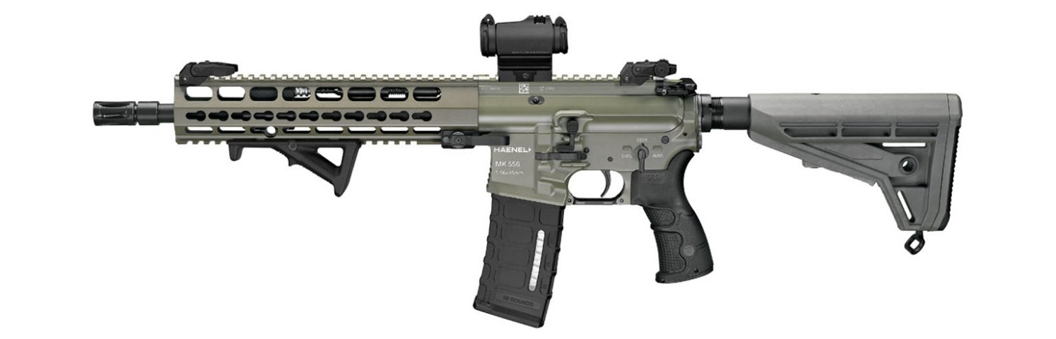 The Bundeswehr has selected Haenel to supply its MK 556 assault rifle to replace the G36. (Haenel)