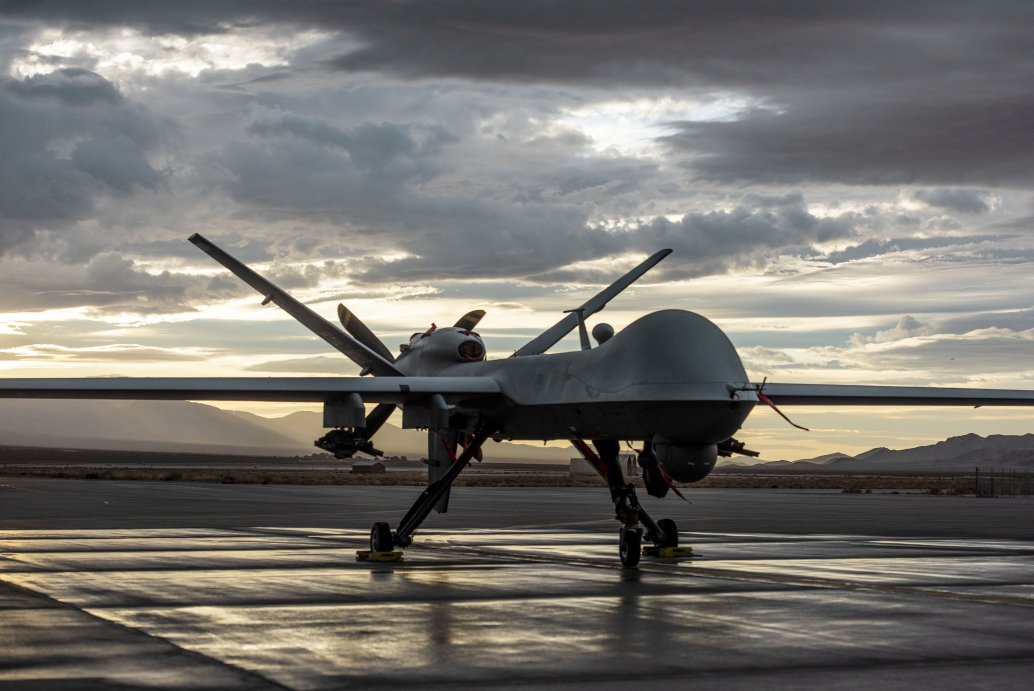 A US Air Force (USAF) MQ-9 Reaper. The DoD has streamlined the procurement process for the USAF and international customers, with a USD7.4 billion-ceiling award for between 4 and 36 vehicles per month for the next five years. (US Air Force)