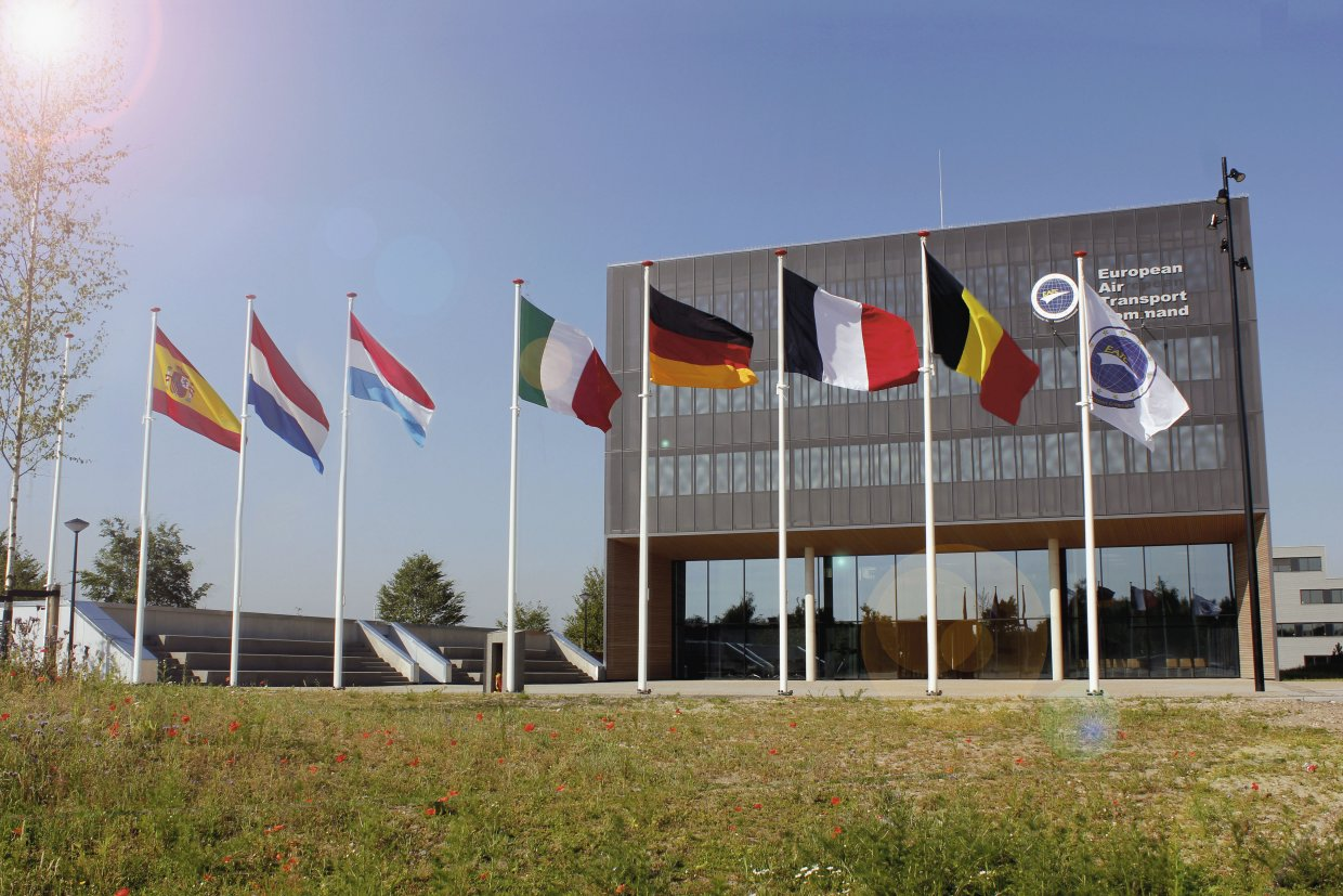 The European Air Transport Command is headquartered at Eindhoven Air Base in the Netherlands. (EATC)