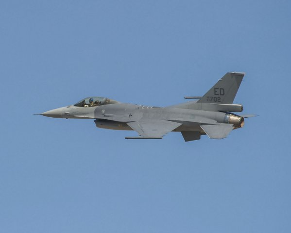 US defence sales to Taiwan understood to be progressing through the notification process include external sensor pods for the island's fleets of Lockheed Martin F-16 fighter aircraft.  (Lockheed Martin/Randy A Crites )