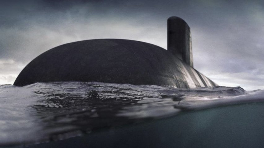 An artist's impression showing one of the Royal Australian Navy's future Attack-class submarines. Naval Group Australia has recently invited local companies to build 23 specialised parts for the boats. (RAN)
