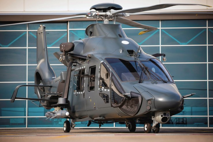 Already set to feature a number of technology 'firsts', the H160M helicopter is now to also incorporate the new AirMaster C AESA radar from Thales. (Airbus Helicopters)