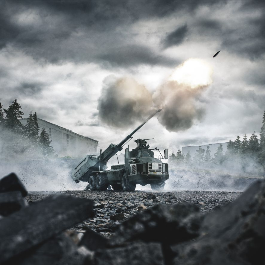 BAE Systems is offering up its Archer mobile howitzer for a new US Army competition. (BAE Systems )