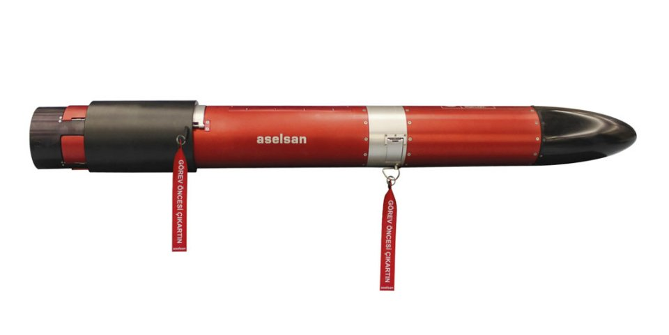 An effector from Aselsan's Zoka range of torpedo countermeasure jammers and decoys.  (Aselsan)