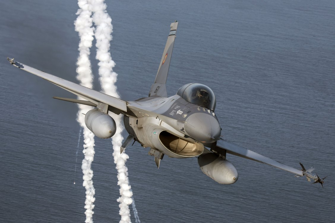 The US has approved an upgrade to the F-16s that Romania is receiving from Portugal. (Romanian Air Force)