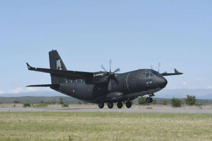 One of the key visible features of the C-27J NG is the addition of wingtips that are designed to enhance the aircraft fuel consumption and by association its capacity, range and/or endurance. (Leonardo)