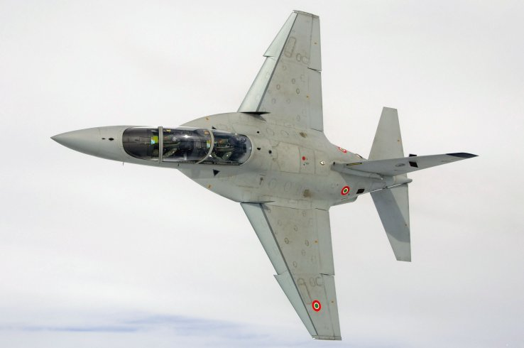 Phase IV training at the IFTS is conducted on the Leonardo M-346. (Leonardo)
