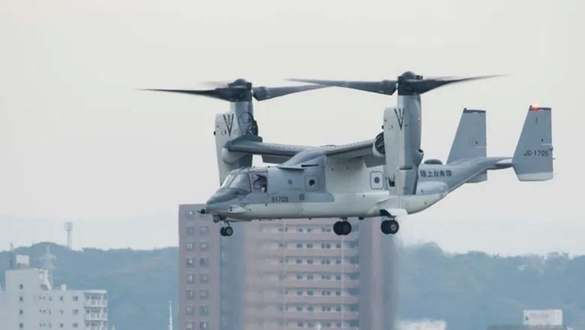 US NAVAIR announced on 12 November that the JGSDF has begun operating its MV-22B tiltrotor aircraft from Camp Kisarazu in Chiba Prefecture.  (JGSDF)
