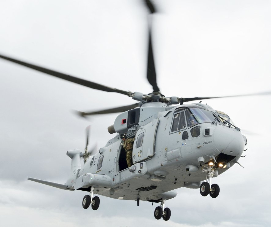 Europe will have several medium-lift helicopter types that will be due for replacement from the mid-2030s, including the Leonardo Merlin. Five nations have launched the NGRC project to satisfy this anticipated requirement. (Janes/Patrick Allen)