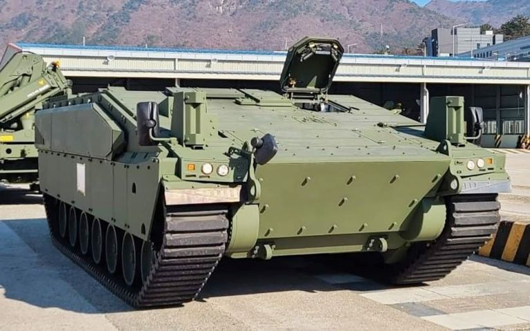 South Korea's Hanwha Defense despatched a third Redback IFV prototype to Australia on 18 December to undergo a series of tests and evaluations with the Australian Army as part of the service's Land 300 Phase 3 procurement programme. (Hanwha Defense)